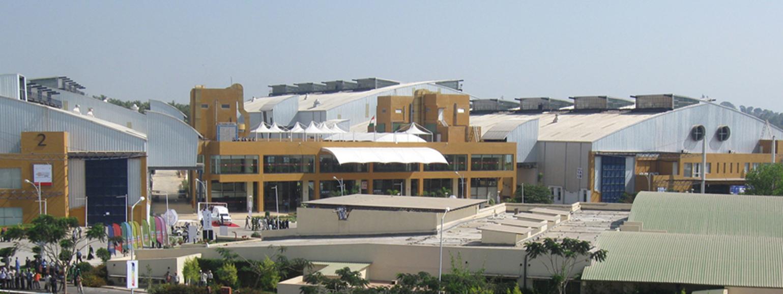 印度班加罗尔国际会展中心Bangalore International Exhibition Centre